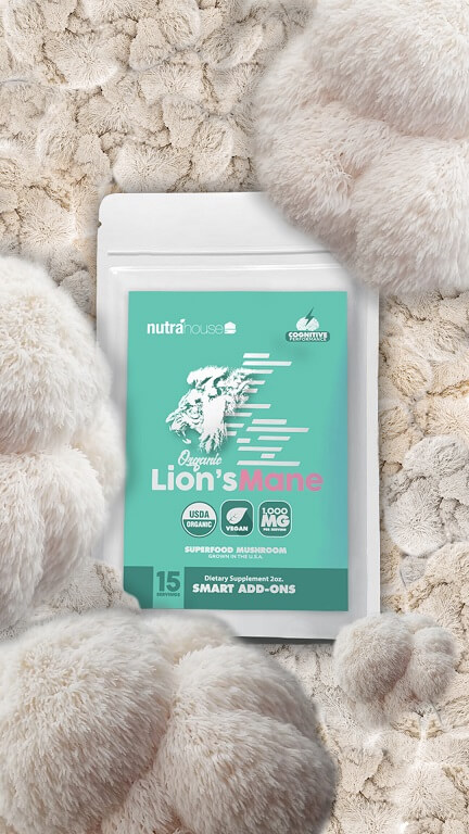 NutraHouse Lion's Mane addon for cognitive support