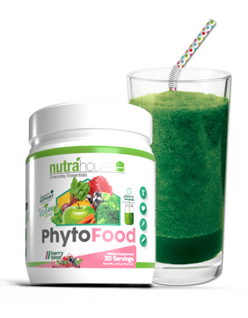 NutraHouse PhytoFood Greens 30 day supply of superfoods